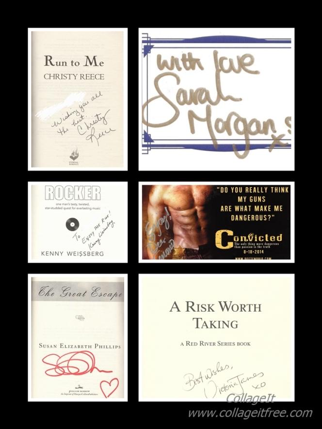 Autographs - Books June2016