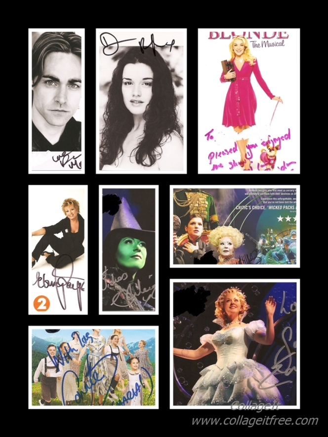 Autographs - Musicals May2016