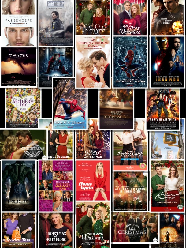 2017 Films Collage